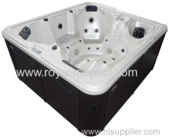 2014 outdoor spa hot tubs with overflow system