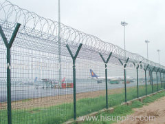 pvc coated airport security fencing airport fence panel