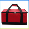 Large capacity fast food package take-away ice cooler bag