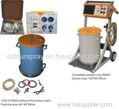 Heet verkoop elektrostatische Powder Coating Equipment