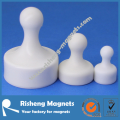 Pushpin magnets Magnetic pushpins Magnetic thumbtacks Magnets for whiteboard