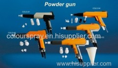 powder coating gun shell