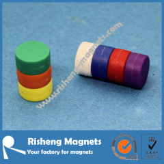 Super Strong N50 Block Permanent Magnet with Plastic Coating