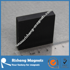 Permanent Neodymium Block Magnet with Rubber Coating