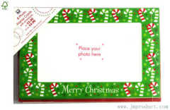 Christmas photo frame cards