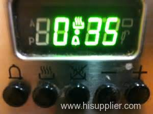 Custom 4-digit 10mm Super Green 7 Segment Led display for Oven Timer Control