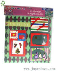Christmas scrapbook for kids