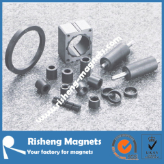complicated shapes injection molded magnetic plastic bonded magnets bonded magnet