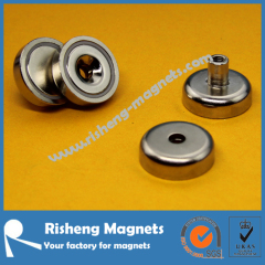 N42 Grade Neodymium Round Disc Magnet with Countersunk Hole