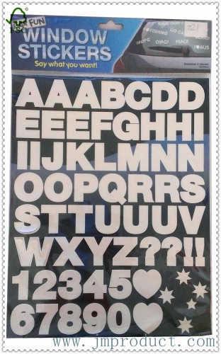 car letter sticker|window letter sticker