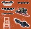 Conveyor chain for coating line