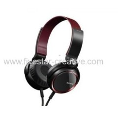 Sony MDR XB400 Red XB Series Extra Bass On-Ear Headphones with 30mm driver