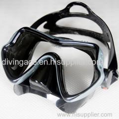 Professional adult scuba diving mask