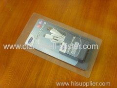 Data line plastic blister packaging