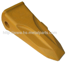 Alloy steel casting Bucket tooth for excavating machine