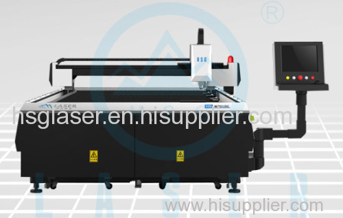 500W large format metal laser cutting machine has high property HS-M3015C