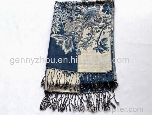 Jacquard scarf Viscose jacquard scarf
