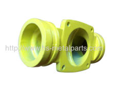 Colorful Iron Casting Motor Parts