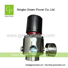 Stainless steel pneumatic regulator