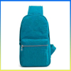 Water-proof nylon casual bosom bag sling bag chest package