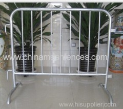 Portable Steel Crowd Control Barrier