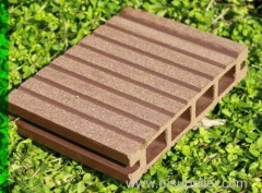 Durable eco-friendly outdoor composite wpc flooring