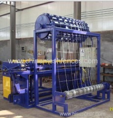 Hinge Joint Grassland Fence Net Machine