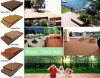 Outdoor Solid WPC Flooring/ Waterproof WPC Deck