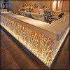 Bar counter in solid surface