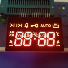Ultra red 4 dgiit oven 7 segment led display for oven timer control