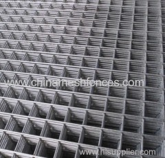 Heavy gauge welded wire fence panel