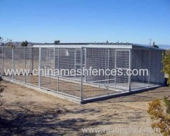Factory large backyard dog wire kennel
