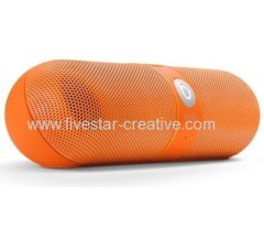 Beats by Dr.Dre Pill Bluetooth Wireless Speakers Neon Orange Limited Edition