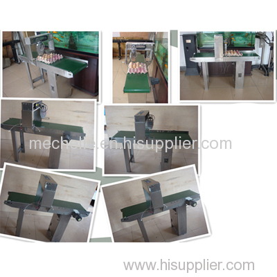 KP-17A automatic egg inkjet printer with conveyor