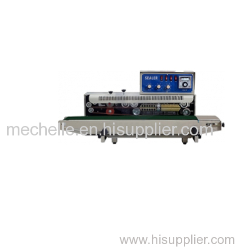Continuous plastic bag sealer FRD-1000 Solid-ink coding continuous band sealer