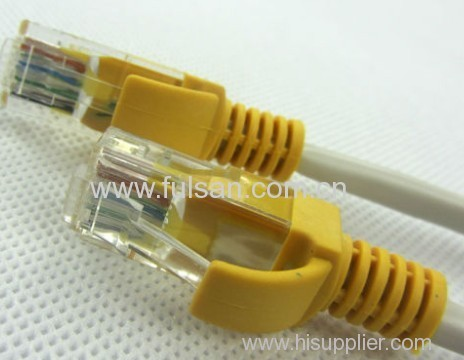 various colours of the patch cable