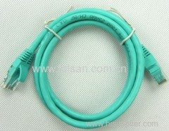 rj45 4pr 26AWG/24AWG cat5e cat6 network patch cable