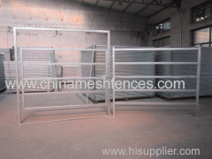 Factory Metal livestock farm fence panel