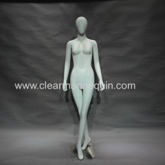 Fashion face female mannequin buying mannequins