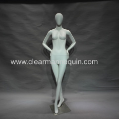 Smooth white mannequins female