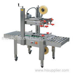 adhesive tape carton sealer FXJ 6050 semi automatic Carton box sealing machine