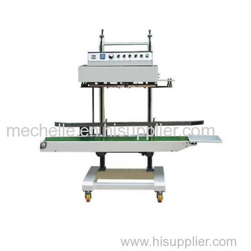 Automatic vertical aluminum thin film sealing machine sealer