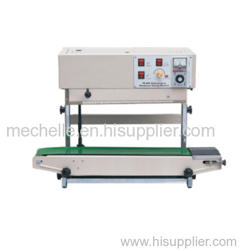 Plastic bag heat sealing machine FR-900V continuous band sealing machine