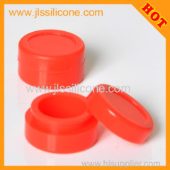 silicone jars Portable wax container