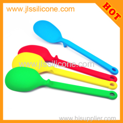 Eco friendly silicone ladle spoon