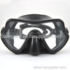 High grade scuba diving masks for free diving