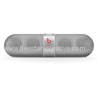 Beats by Dr.Dre Pill 2.0 Bluetooth Wireless Speakers With Big Sound Silver