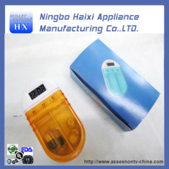 Durable Fashion Pill Box with Single Alarm Timer