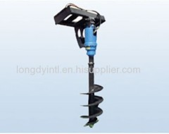Auger, Compact Skid Steering Loader Attachment