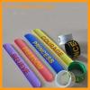 promotional gift silicone slap bracelet wrist band